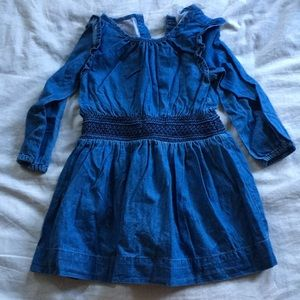 Chambray baby gap dress